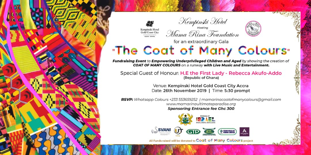Supporting The Coat of Many Colours