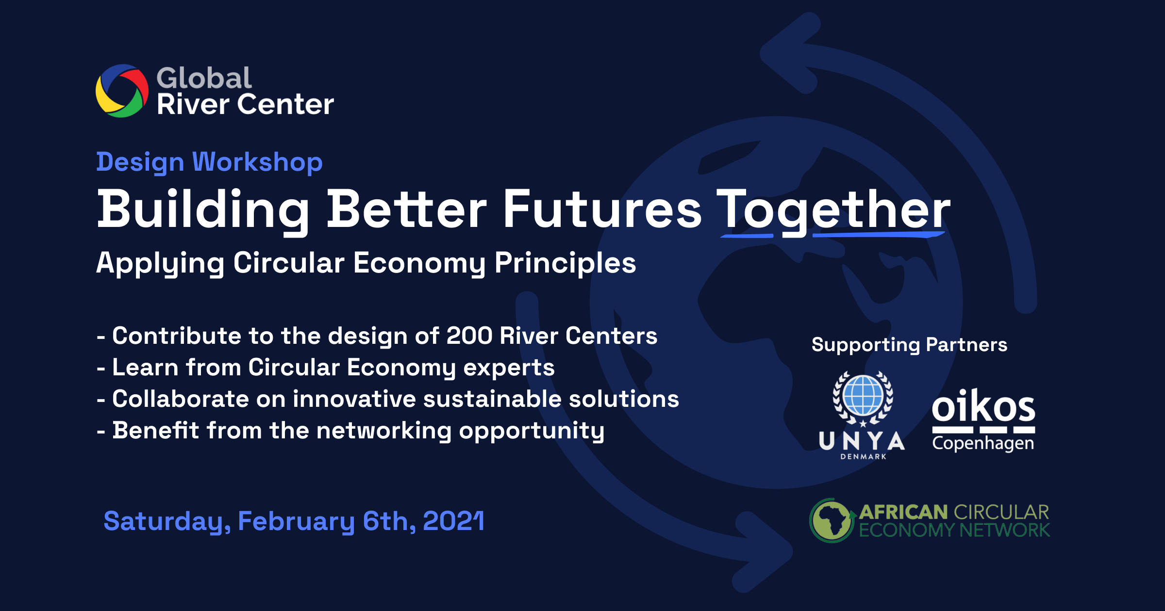 Building Better Futures Together – Applying Circular Economy Principles