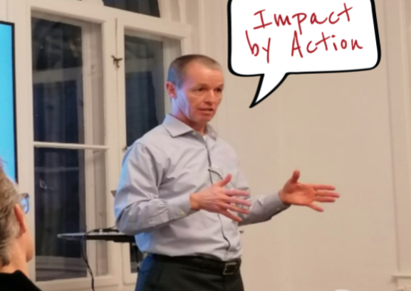 """""""Impact by action"""" with Erhvervsakademi Aarhus"""
